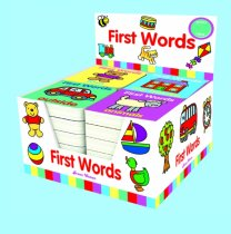 First Words Board Book - 4 Titles