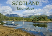 Lochaber, Bishop's Bay - Scotland Magnet (H)
