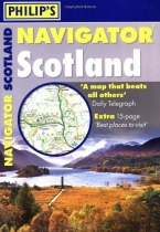 Navigator Scotland Road Atlas Spiral Bound