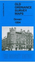 Old OS Map Govan 1894