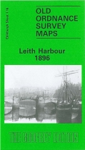 Old OS Map Leith Harbour 1896