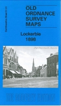 Old OS Map Lockerbie 1898