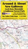 A&A Map New Galloway, Loch Ken, Mossdale & Galloway FP
