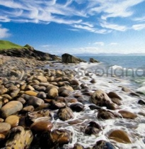 Shore, Applecross Colour Art Greetings Card