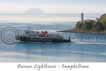 Davaar Lighthouse, Campbeltown Postcard (H A6 LY)
