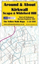 A&A Map Kirkwall, Scapa & Wideford Hill