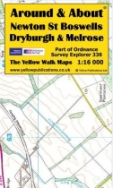 A&A Map Newtown St Boswells, Dryburgh & Melrose