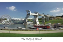 Falkirk Wheel Postcard (HA6)