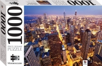 Jigsaw Chicago at Twilight 1000pc