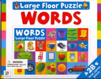 Floor Puzzle Words