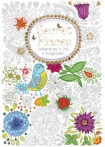Secret Places Colouring Book