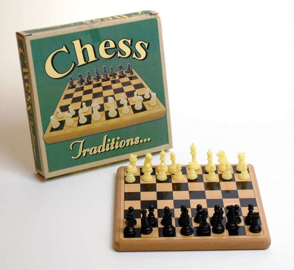 Traditions Wooden Chess Game