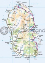 Arran Map Magnet (V LY)