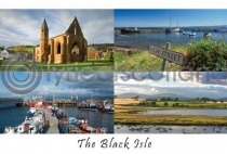 Black Isle Composite Postcard (H A6 LY)