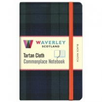 Tartan Cloth Notebook Pocket: Black Watch (JunRP)
