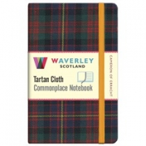 Tartan Cloth Notebook Pocket: Cameron of Erracht