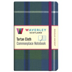Tartan Cloth Notebook: Douglas Ancient