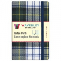 Tartan Cloth Notebook Pocket: Dress Gordon