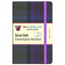 Tartan Cloth Notebook Pocket: Isle of Skye