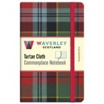Tartan Cloth Notebook Pocket: Caledonia
