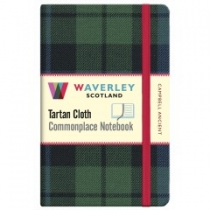 Tartan Cloth Notebook Pocket: Campbell Ancient (JunRP)