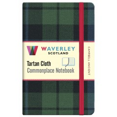 Tartan Cloth Notebook: Campbell Ancient