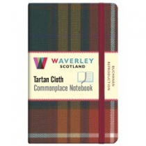 Tartan Cloth Notebook Pocket: Buchanan Reproduction (JunRP)