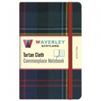 Tartan Cloth Notebook Pocket: Malcolm