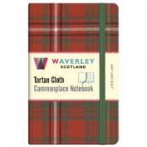 Tartan Cloth Notebook: Hay Ancient