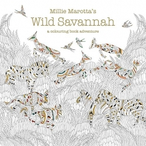 Wild Savannah: A Colouring Book Adventure