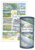 Jigsaw North Wales Gift Tube 250pc