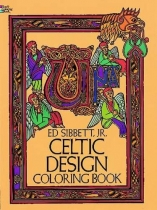 Celtic Design Colouring Book