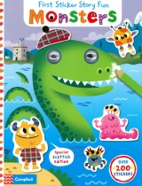 Monsters - First Sticker Story Fun