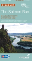 Salmon Run Dundee to Pitlochry Cycle Route Map