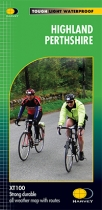 XT100 Highland Perthshire Cycling Map