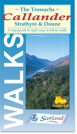 Trossachs: Callander, Strathyre & Doune Footprint Map