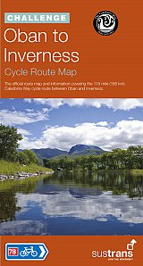 Oban to Inverness Cycle Route Map