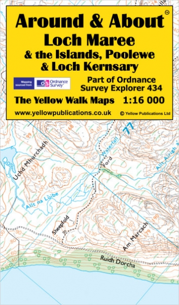 A&A Map Loch Maree & Poolewe