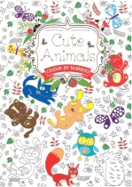 Cute Animals Colour by Numbers