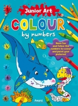 Junior Art Colour by Numbers: 4 Asst Titles