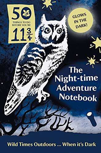 50 Things Night Time Adventure Notebook