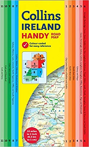 Handy Road Map Ireland