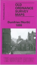 Old OS Map Dumfries (North) 1899