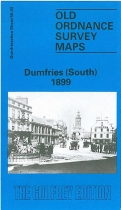 Old OS Map Dumfries (South) 1899