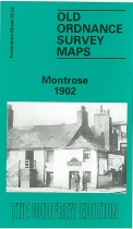 Old OS Map Montrose 1902