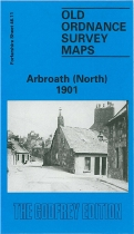 Old OS Map Arbroath (North) 1901