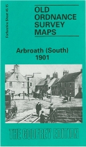 Old OS Map Arbroath (South) 1901