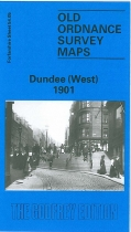 Old OS Map Dundee (West) 1901