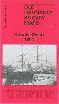 Old OS Map Dundee (East) 1901