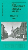 Old OS Map Hawick 1897